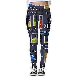 Miedhki Geek Chic Allover grande Pantalones de yoga de bolsillo de cintura alta azul marino con control de barriga Entrenamiento Running Stretch Yoga Leggings