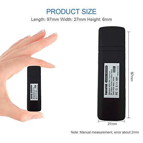 41hJY5%2B8eaL - Adaptador Wi-Fi inalámbrico USB para televisión, Fancartuk 802.11ac de doble banda 2,4 GHz y 5 GHz, adaptador USB de red WiFi inalámbrico para smart TV Samsung WIS12ABGNX WIS09ABGN 300M