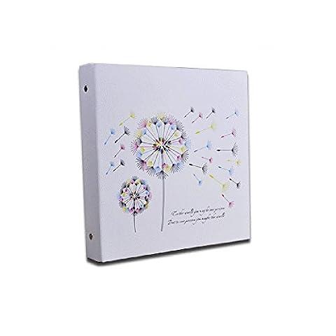 DEBON Colorful Dandelion Theme DIY Photo Album Self-adhesive Scrapbook, Creative