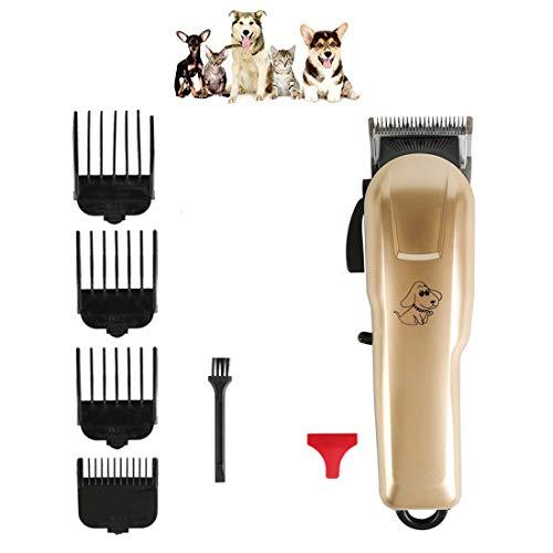 ZYWTZ Hundeklipper, Professioneller Rasierer für Haustiere, USB Wird geladen, Geeignet für alle Haustiere