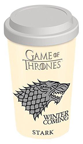 Game Of Thrones, Casa Stark, Tazza da viaggio, colore: multicolore
