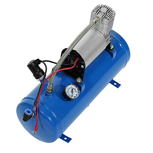 12V Reifen Inflator Pumpe Luft Pumpe mit 6 Liter Luftkompressor 150psi für Air Horn Zug LKW -