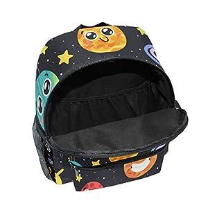 41hJb3JR1fL. SS300  - CPYang Mochila para niños con sistema solar Planet Emoji School Bag Kindergarten Preescolar Mochila para niños y niñas
