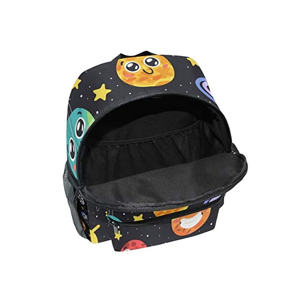41hJb3JR1fL. SS600  - CPYang Mochila para niños con sistema solar Planet Emoji School Bag Kindergarten Preescolar Mochila para niños y niñas
