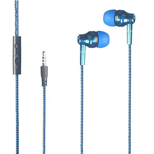 Exclusive Deals, Great Indian Sale, Golden Hour Deals, AST i-Music Headset Universal Stereo Earphones 3.5MM Headset Super Bass Earphone with mic Thread line Wire-control For all iPod, iPhone, iPad, Android device, mp3 player, CD player, portable DVD player, PSP, MD, radio or laptop computer - BLUE  available at amazon for Rs.199