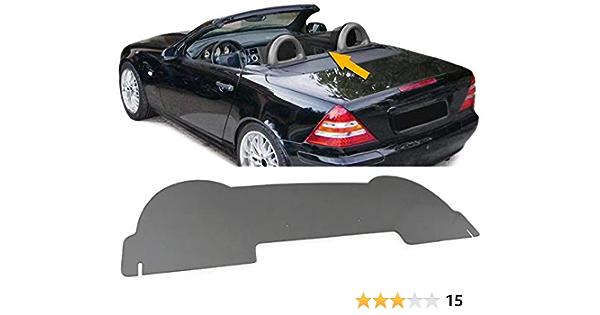 Carparts Online 28609 Wind Deflector Acrylic Glass Smoke Tinted Auto