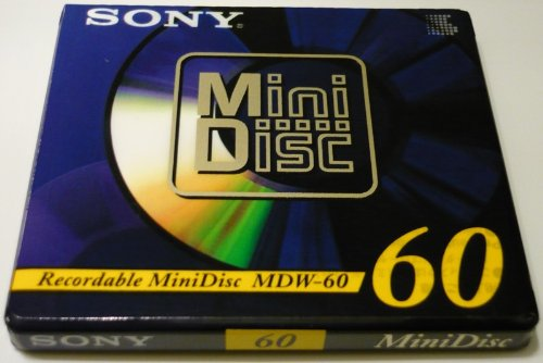 MDW-60A Sony Mini Disc 60min