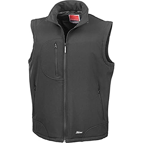 New risultato Softshell-Gilet in micropile, impermeabile e