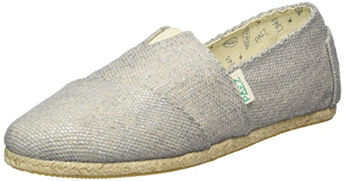 PaezOriginal Raw Day&Sparks Diamond - Espadrillas Unisex - Adulto , Argento (Silber (Natural 0039)), 36