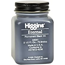 Higgins 2 oz Non-Waterproof Eternal Ink, Black