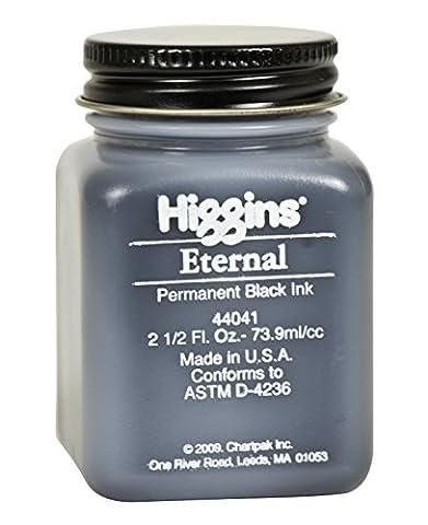 Higgins 2oz d'encre non étanche éternelle, Noir