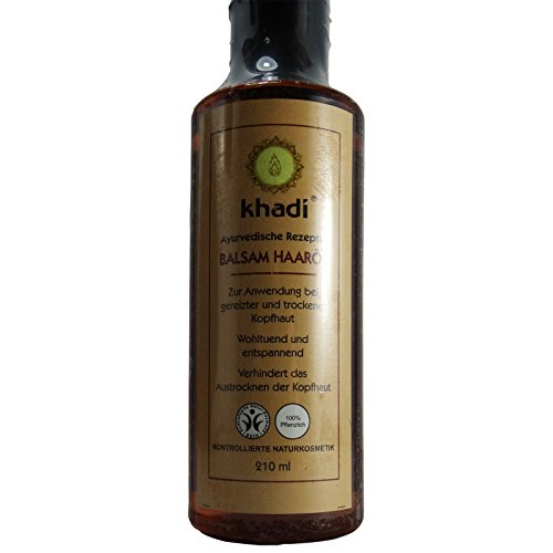 Khadi Olio Balsamo Capelli Anti Forfora Rinforzante Tonificante 210 ml
