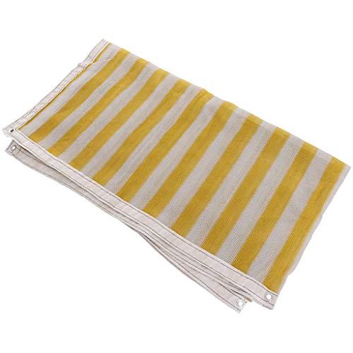 Waterproof Cloth Home Tente d'extérieur Filet Pare-Soleil, Pare-Soleil, Pare-Soleil, Filet Soleil, Balcon, Jardin, Fleur, Vert, Filet Anti-UV (Color : A, Size : 4 * 8m)