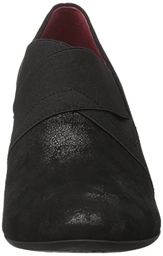 Gabor Shoes 52.162 Damen Geschlossene pumps Schwarz (Schwarz (Fu Rot) 97)