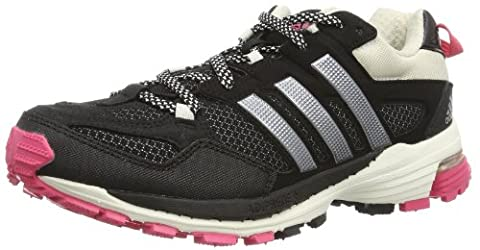 adidas Womens Supernova Riot 5 Running Shoes Black Schwarz (Black