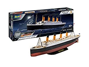Revell- RMS Titanic Maqueta Barco, 10+ Años, Multicolor (05498)