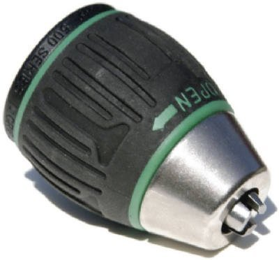 Jacobs 31048 6000-Series 1/2-Inch Soft Grip Sleeve Keyless Drill Chuck with 1/2 to 20 Threaded Mount by Apex Tool Group - Jacobs Keyless Chuck