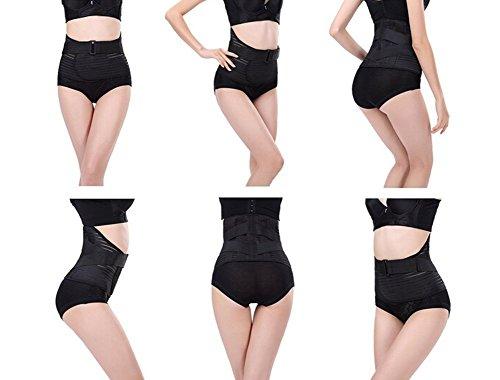 TININNA Taillenformer Bauchweggürtel Bauchweggürtel Bauchband Schlank Fitnessgürtel Bauchstütze Binder Fitnessgürtel Taillenformer