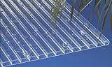 Acryl Stegplatten Hohlkammerplatten klar 3000 x 980 x 16 mm