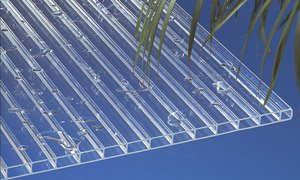 Acryl Stegplatten Hohlkammerplatten klar 2000 x 1200 x 16 mm