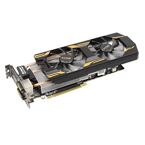 GTX 760-2GD5-Grafikkarten für NVIDIA GTX760 2GD5 HA 2G GT700 Grafikkarte 256bit HDMI DVI,Black -