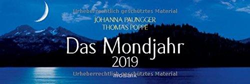 Das Mondjahr 2019: Wochenkalender - Das Original