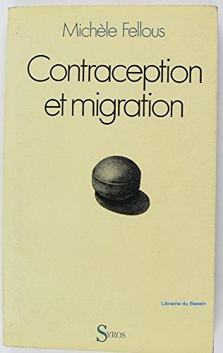Contraception et migration / planification familiale en milieu migrant nord-africain et portugais
