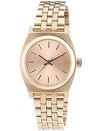 Nixon Damen-Armbanduhr XS Small Time Teller Analog Quarz Edelstahl A399897-00
