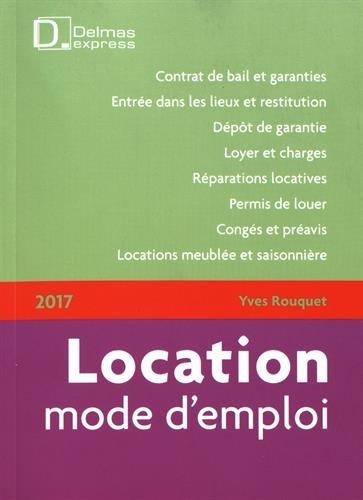 Location mode d'emploi