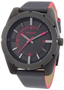 Diesel Herren-Armbanduhr XL Analog Quarz Leder DZ5359