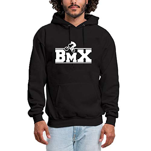676e784c773 Femme Sweat à Capuche Outdoor Sports BMX Logo - Classic   Comfortable Pullover  Hoodie Sweatshirt Black