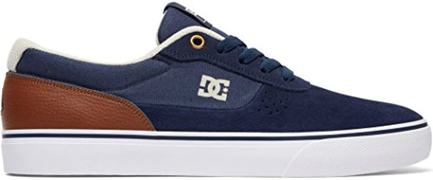 Dc Schuh Switch   Core Skate Series Dunkelblau Dark Chocolate Super Suede (40.5 Eu / 8 Us   Dunkelblau)