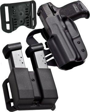 blade-tech idpa Wettbewerb Shooters Pack, für Glock 20/21und Revolution DMP für Glock 10/45, rechts Revolution Holster