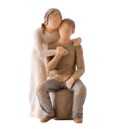 Willow Tree Skulptur Paar You and me von Susann Lordi