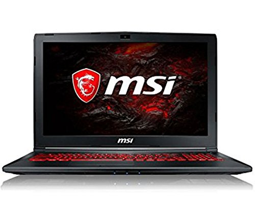 "MSI GL62M 7RDX-1820FR Ultrabook 15,6"" Noir (Intel Core i7, 8 Go de RAM, 1 to, Latest GeForce GTX 1050/2 Go GDDR5, Windows 10 Home)"