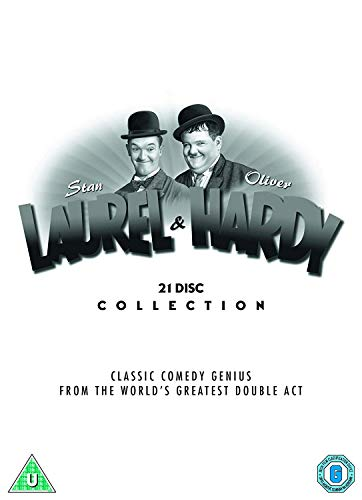 Laurel & Hardy: The Collection (Tradewide repackage) [DVD] [2018]