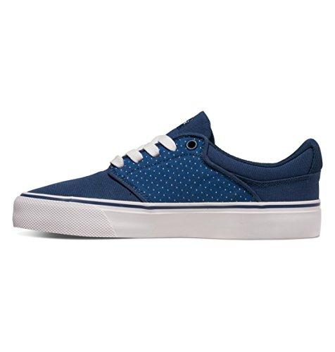 DC Shoes Mikey Taylor Vulc TX Se - Chaussures Pour Femme ADJS300084 Bleu - Blue/Brown/White