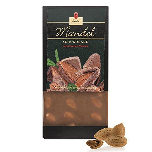 Leysieffer - Vollmilch Tafelschokolade mit gerösteten Mandeln