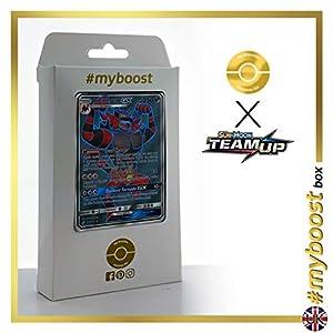 Incineroar-GX 167/181 Full Art - #myboost X Sun & Moon 9 Team Up - Box de 10 cartas Pokémon Inglesas
