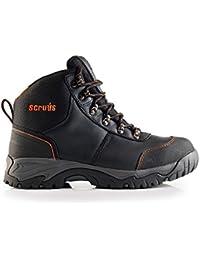 Scruffs Speedwork Sicherheitsstiefel S1P Sra HRO - Calzado de Protección Unisex Adulto, Color Negro, Talla 41