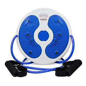 WXX Planche de couronnement Sport th/érapie magn/étique Plus Disque Pied Massage Taille Fine,Pink a/érobic p/édale Exercice Fitness Torsion Aimant /équilibre Disque Rotatif