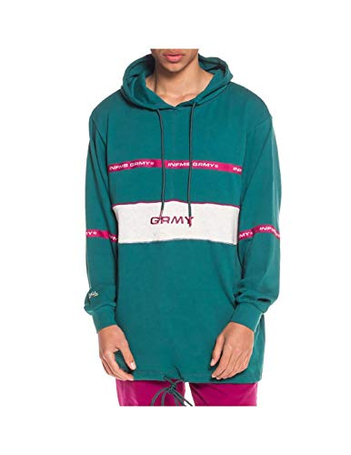 Grimey Sudadera COUNTERBLOW Long Hoodie SS18 Green-M