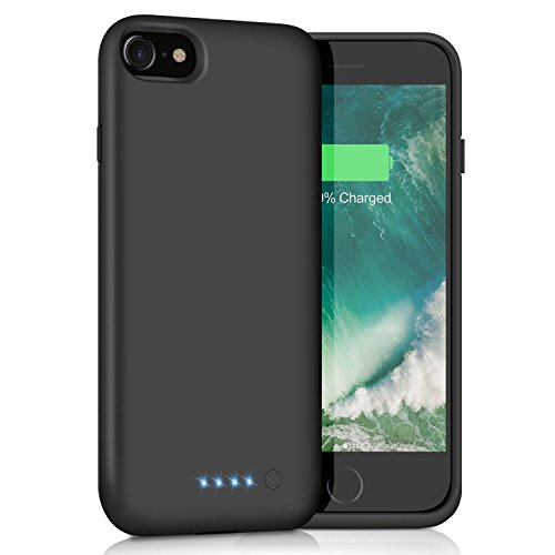 iPosible Funda Batería para iPhone 6/6S/7/8, [6000mAh] Funda Cargador...