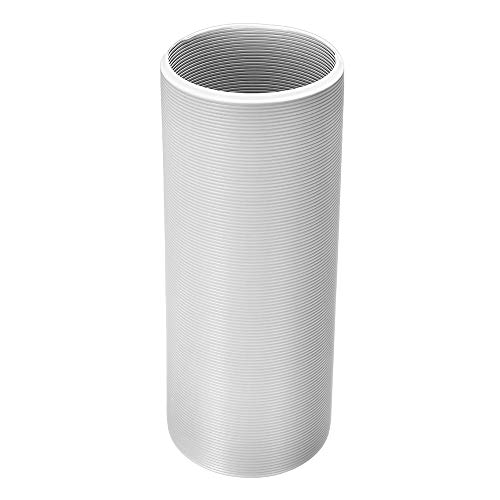 KUNSE 118 Inch Klimaanlage Auspuff Schlauchrohr Stahldraht Passt Klimaanlage 6 Inch Durchmesser Ventil Schlauch -