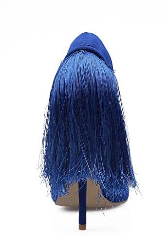 TDA - Sandali con Zeppa donna Blue