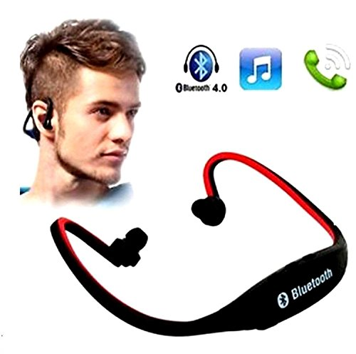 SR Global Outdoor Sport Mp3 Player Wireless Headset Headphones Support Micro Sd/Tf Card + Fm Radio Mp3 Players Earphone for Camp Without Bluetooth,Multicolor Model 104298