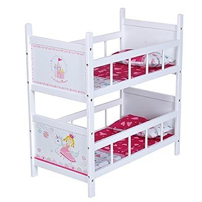 KNORRTOYS.COM 67807 - Litera para muñecas mundo de princesas color blanco por Knorrtoys.com