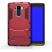LG G4 Stylus / G4 Note / G Stylo Funda, Cocomii Iron Man Armor NEW [Heavy Duty] Premium Tactical Grip Kickstand Shockproof Hard Bumper Shell [Military Defender] Full Body Dual Layer Rugged Cover Case Carcasa LS770 H631 MS631 (Red)