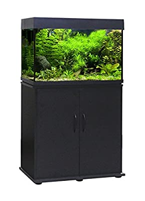 Wave Coated Wood Cabinet, 80 x 42 x 73 cm, Black by CROCI