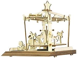 Jamara 400261 Figura de construcción - Figuras de construcción (Madera, 8 año(s), Madera, 210 mm, 160 mm, 180 mm)